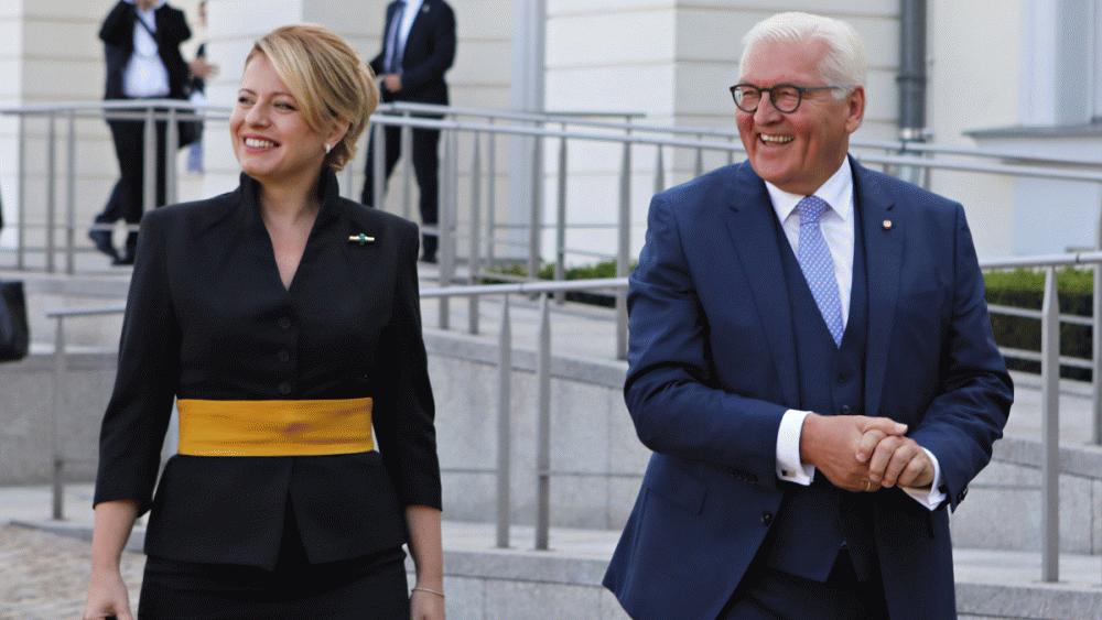 Prezidentka poďakovala nemeckému prezidentovi za pomoc