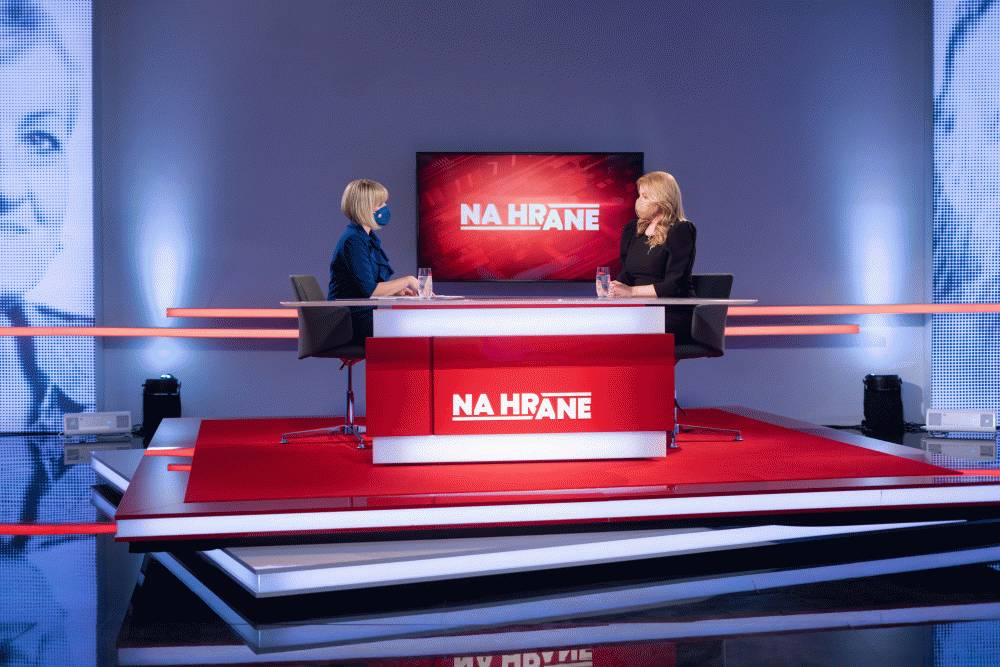 Prezidentka diskutovala v TV JOJ o riešení vládnej krízy