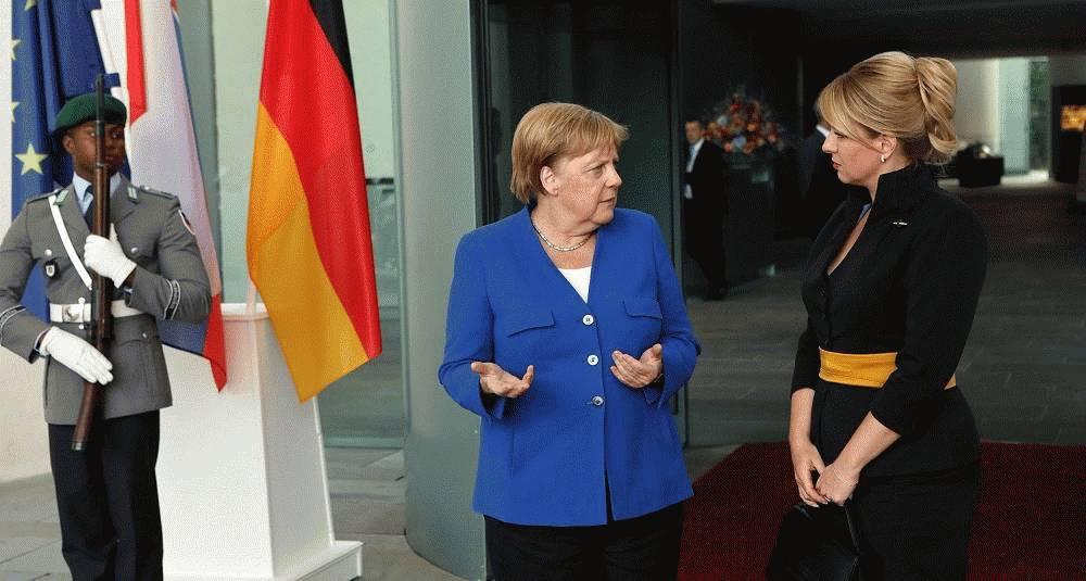 President Čaputová sees shared political values after high-level meetings in Germany