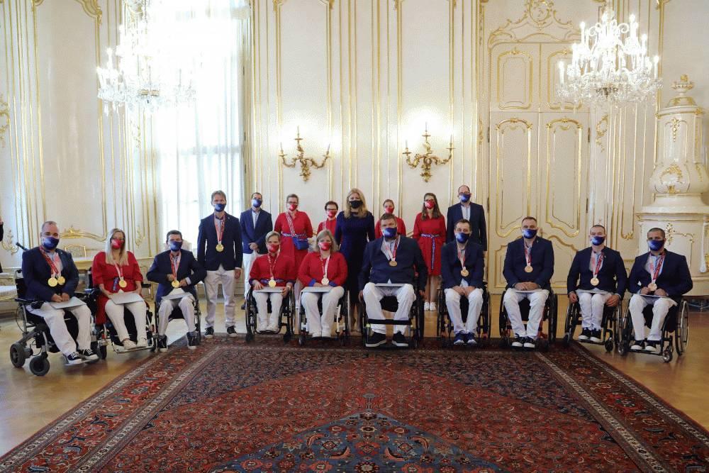 Prezidentka ocenila úspechy paralympijskej výpravy