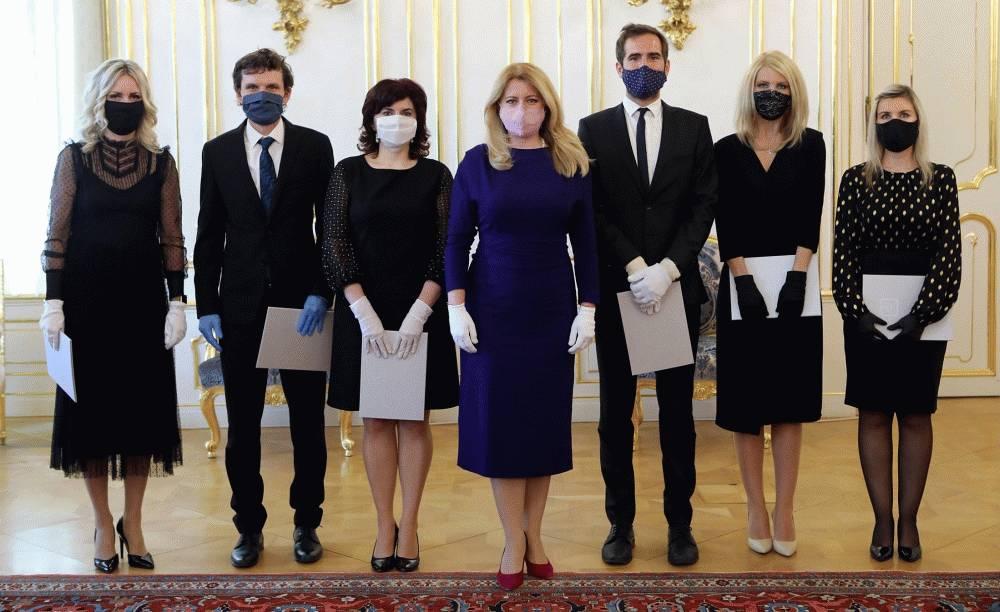 Prezidentka vymenovala šesť nových sudkýň a sudcov