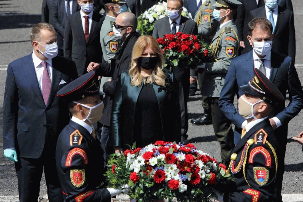 Prezidentka si pripomenula 75. výročie ukončenia 2. svetovej vojny