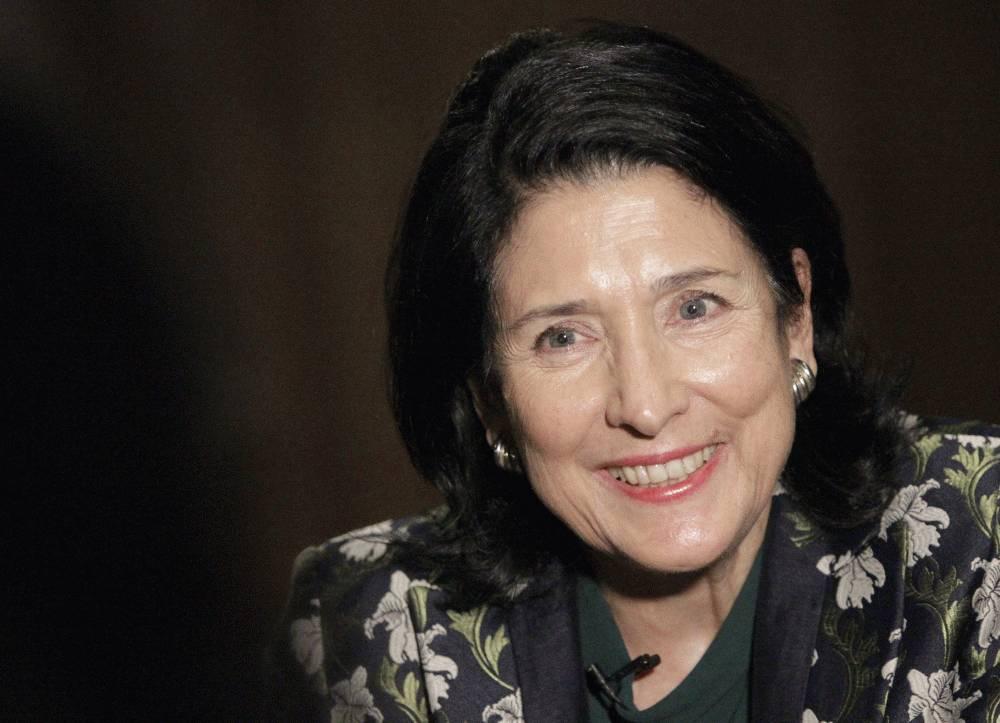 Prezidentka telefonovala s gruzínskou prezidentkou