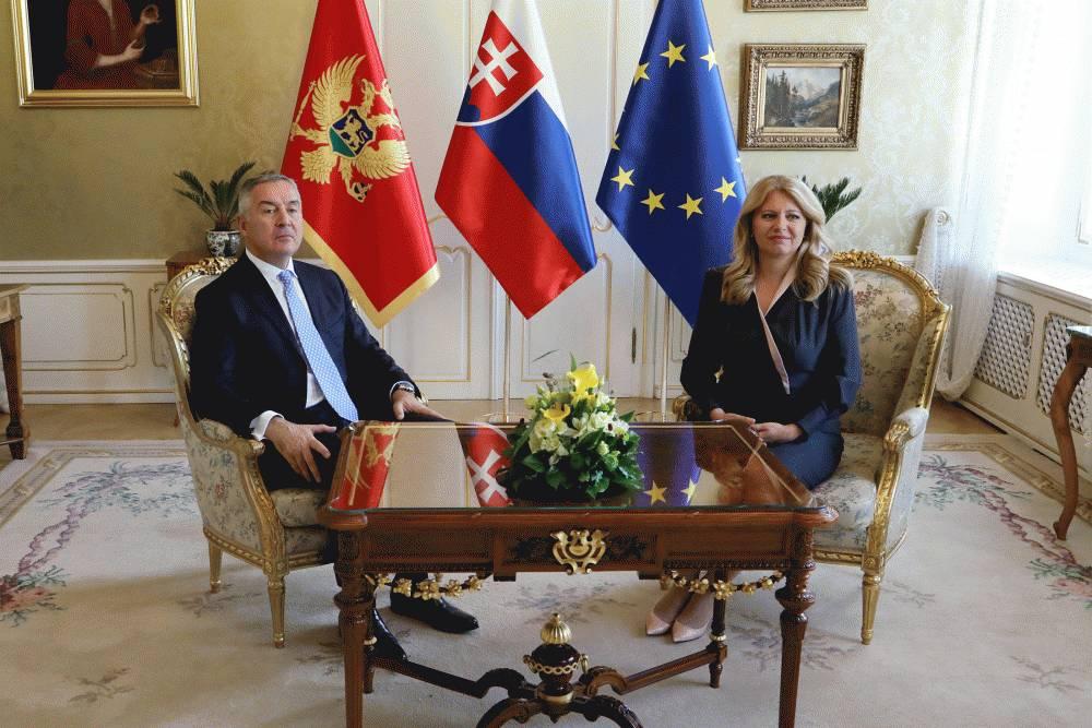 State Visit of Milo Djukanović, President of Montenegro, to the Slovak Republic