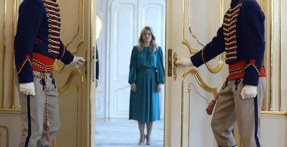 Prezidentka dnes prijala najvyšších ústavných činiteľov
