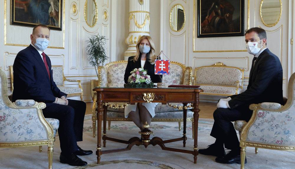 Prezidentka diskutovala o kríze s premiérom a predsedom NR SR