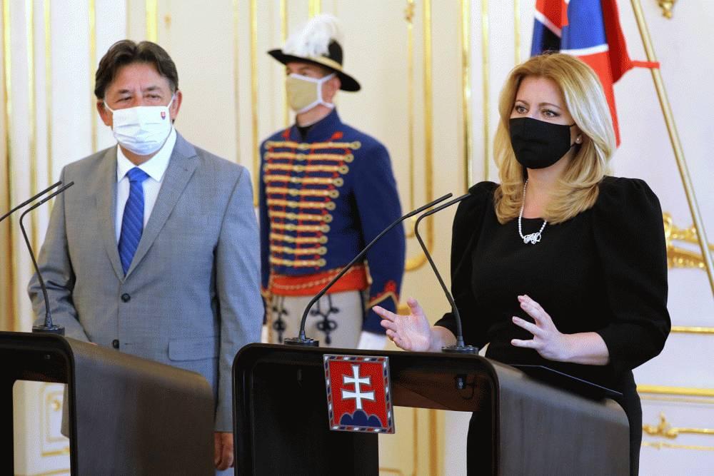 Prezidentka sa stretla s ministrom životného prostredia Jánom Budajom