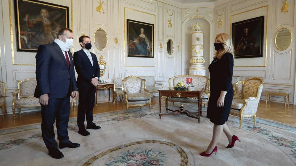 Prezidentka tlmočila premiérovi a predsedovi NR SR svoje očakávania
