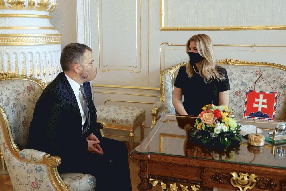 Prezidentka prijala predsedu Slovenskej advokátskej komory