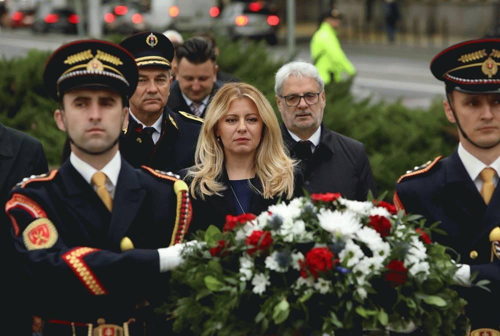 Prezidentka si uctila výročie vzniku Československej republiky