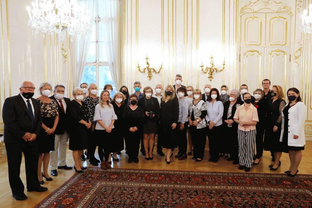 Prezidentke záleží na tom, aby sa aj nepočujúcim žilo na Slovensku lepšie