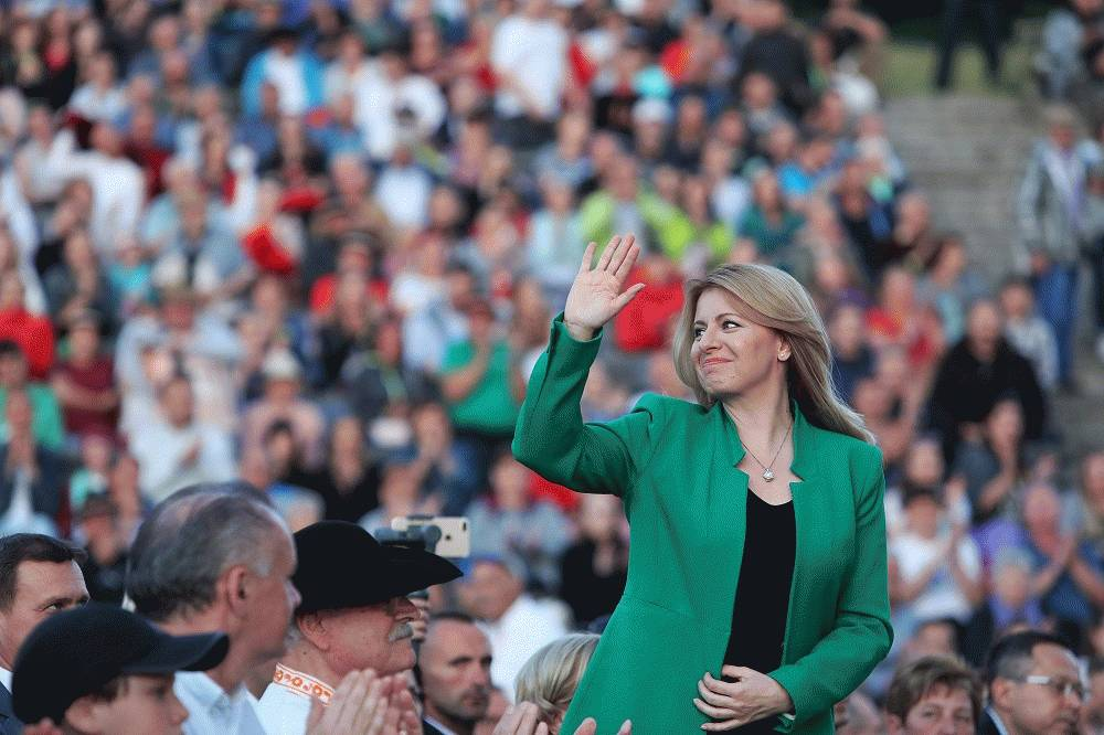Prezidentka na festivale Východná: Bohatstvo Slovenska spočíva v ľuďoch