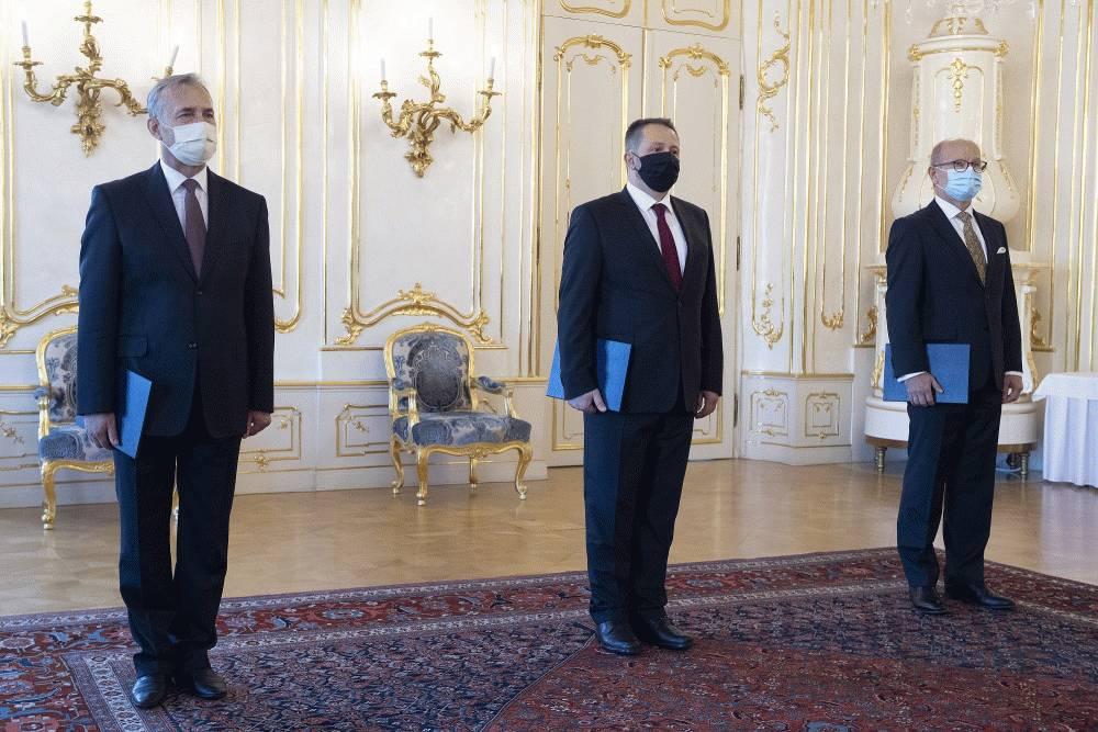 Prezidentka odovzdala poverovacie listiny novým veľvyslancom SR