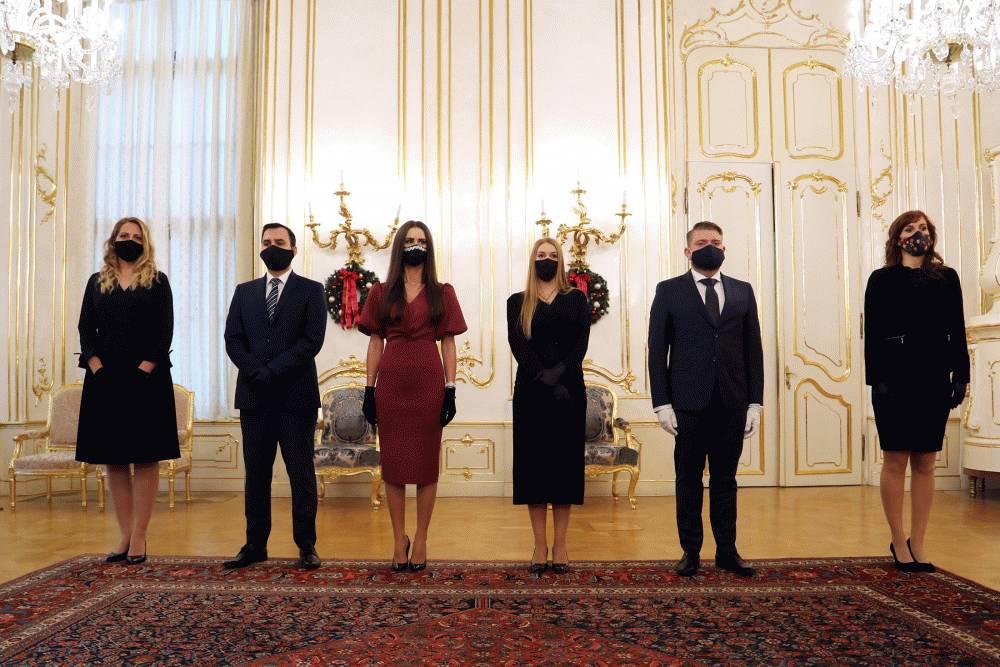 Prezidentka vymenovala nové sudkyne a sudcov