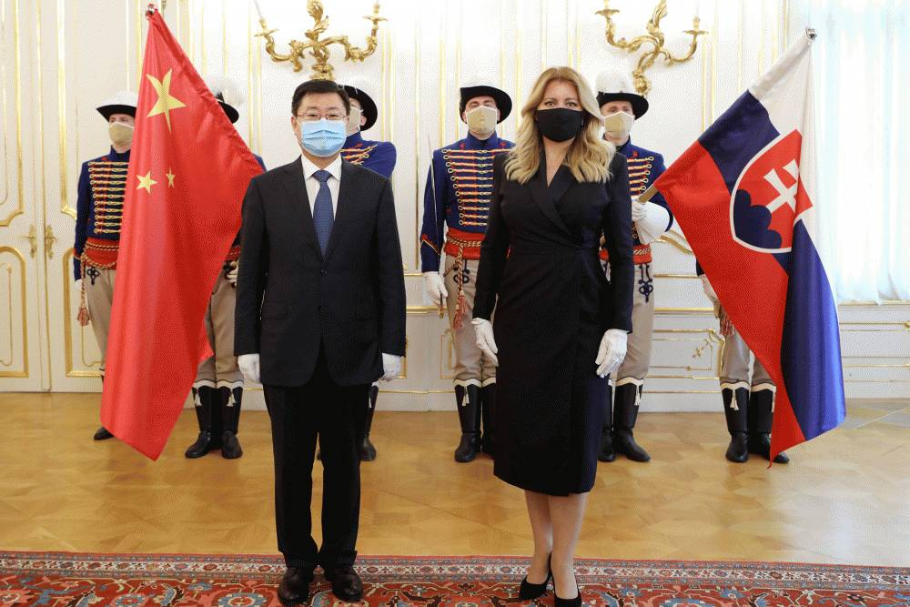 Prezidentka prijala nového čínskeho veľvyslanca