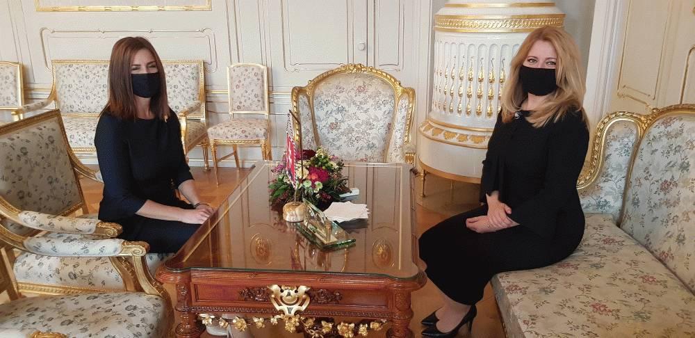 Prezidentka hovorila o riešení dopadov pandémie s ministerkou kultúry
