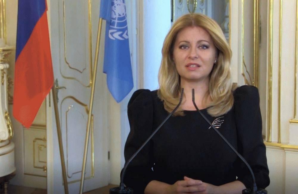 OSN: Prezidentka hovorila o solidarite, dôvere a zodpovednosti lídrov