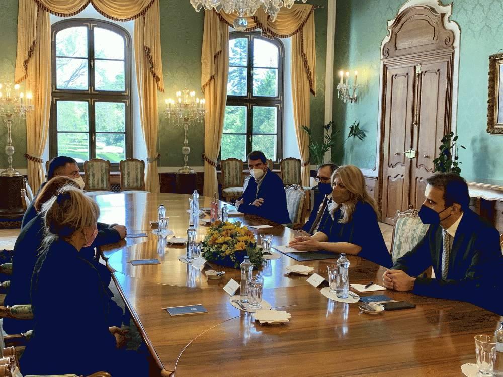 Prezidentka prijala zástupcov Vidieckej platformy a Spolku farmárov Slovenska