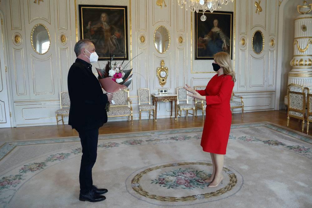 Prezidentka sa stretla s exprezidentom Andrejom Kiskom