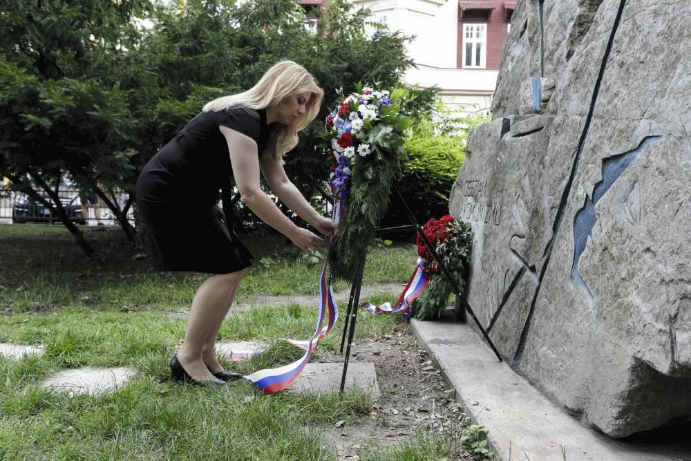 Prezidentka si uctila pamiatku Milady Horákovej