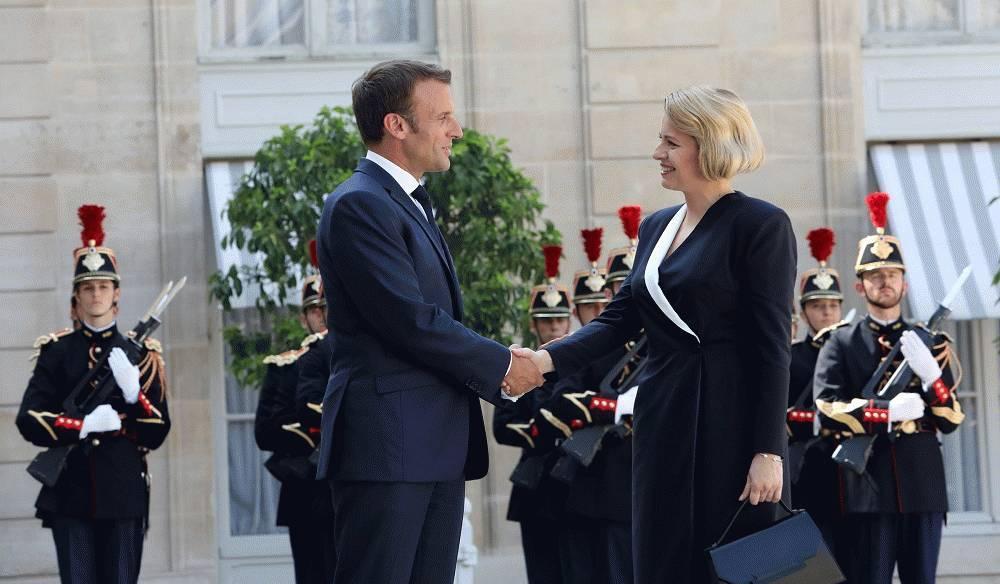 Macron o prezidentke: Symbol zjednotenej Európy