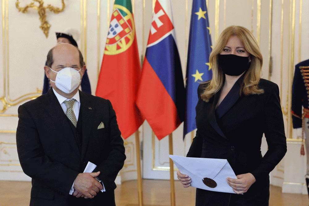 Nový portugalský veľvyslanec odovzdal poverovacie listiny