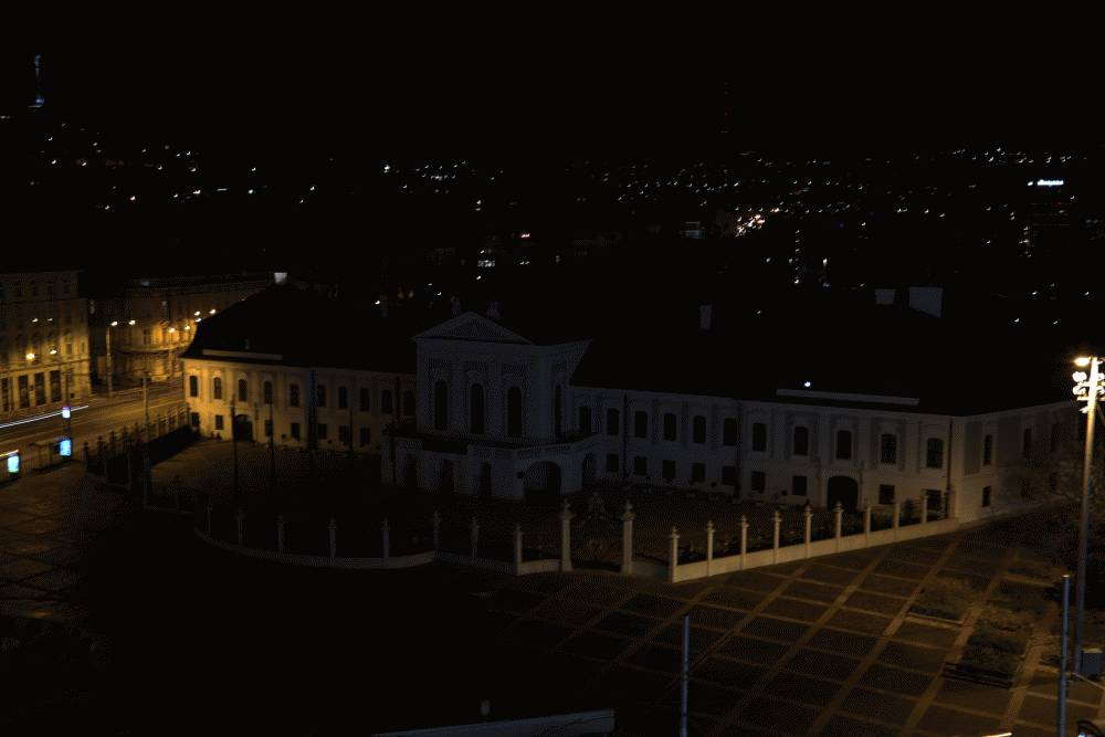 Prezidentský palác zhasol, pripojil sa k Hodine Zeme