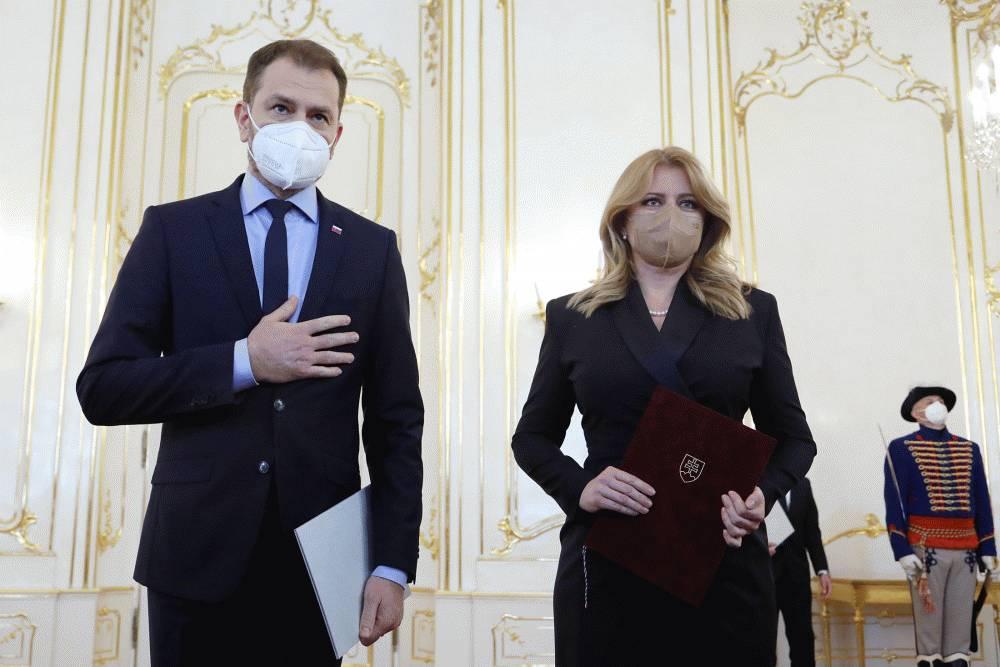 Igor Matovič podal demisu, novú vládu zostaví Eduard Heger