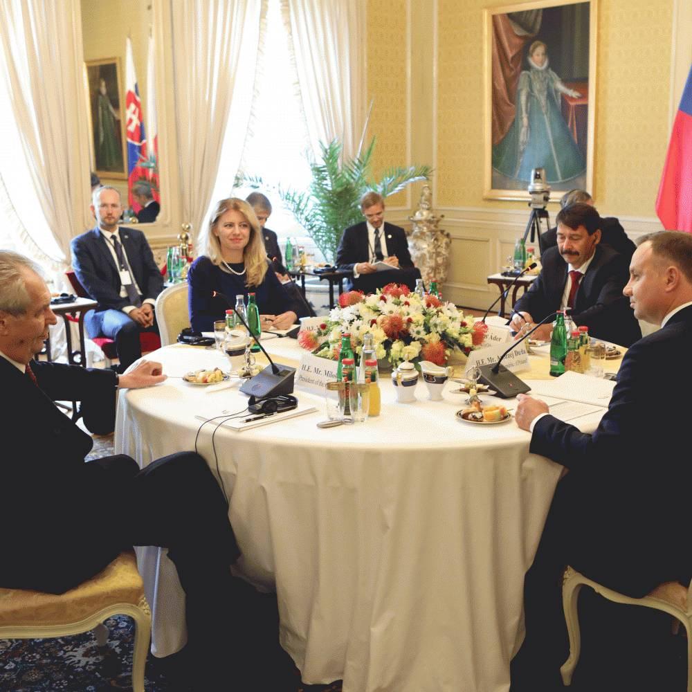Spoločné vyhlásenie prezidentov V4 k situácii v Bielorusku