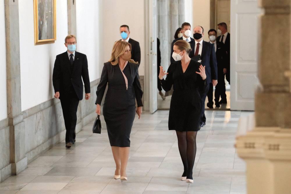 Prezidentka v Kodani rokovala s dánskou premiérkou