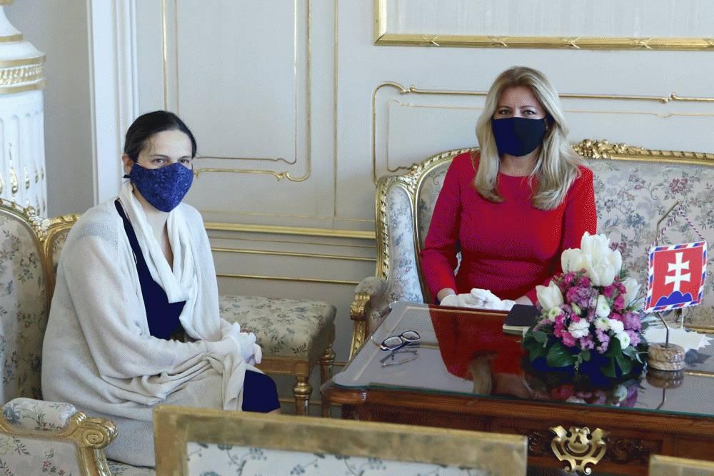 Prezidentka hovorila s Máriou Kolíkovou a Romanom Mikulcom o programe vlády
