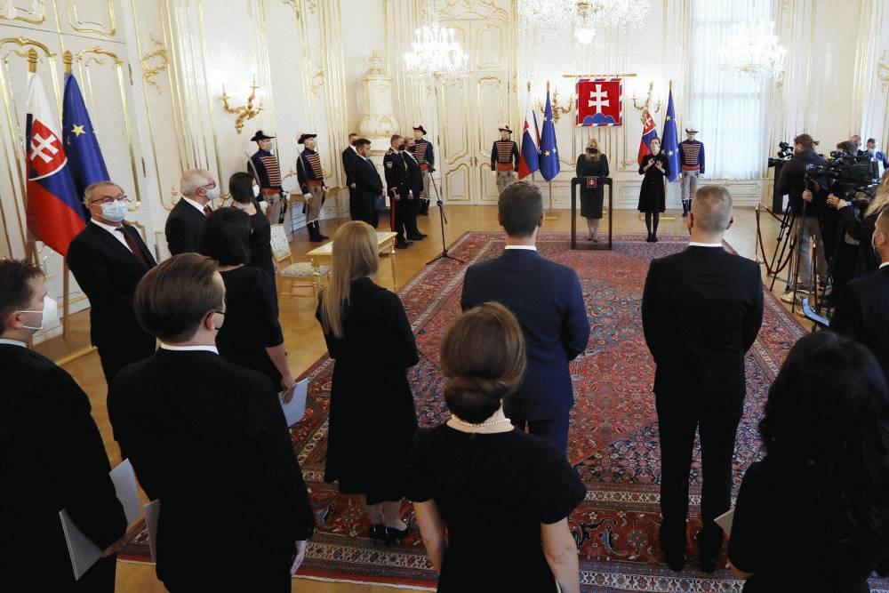 Prezidentka vymenovala 12 nových sudkýň a sudcov