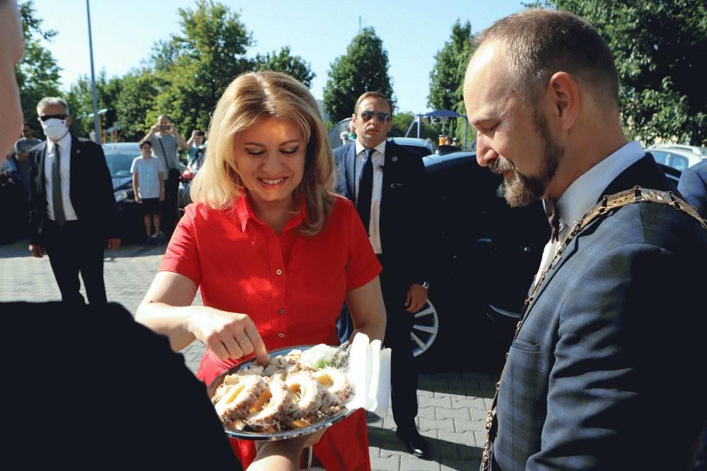 Prezidentka navštívila Trnavský kraj