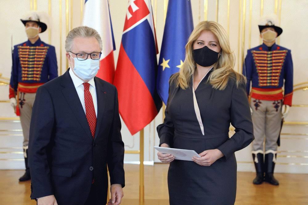 Nový francúzsky veľvyslanec odovzdal poverovacie listiny