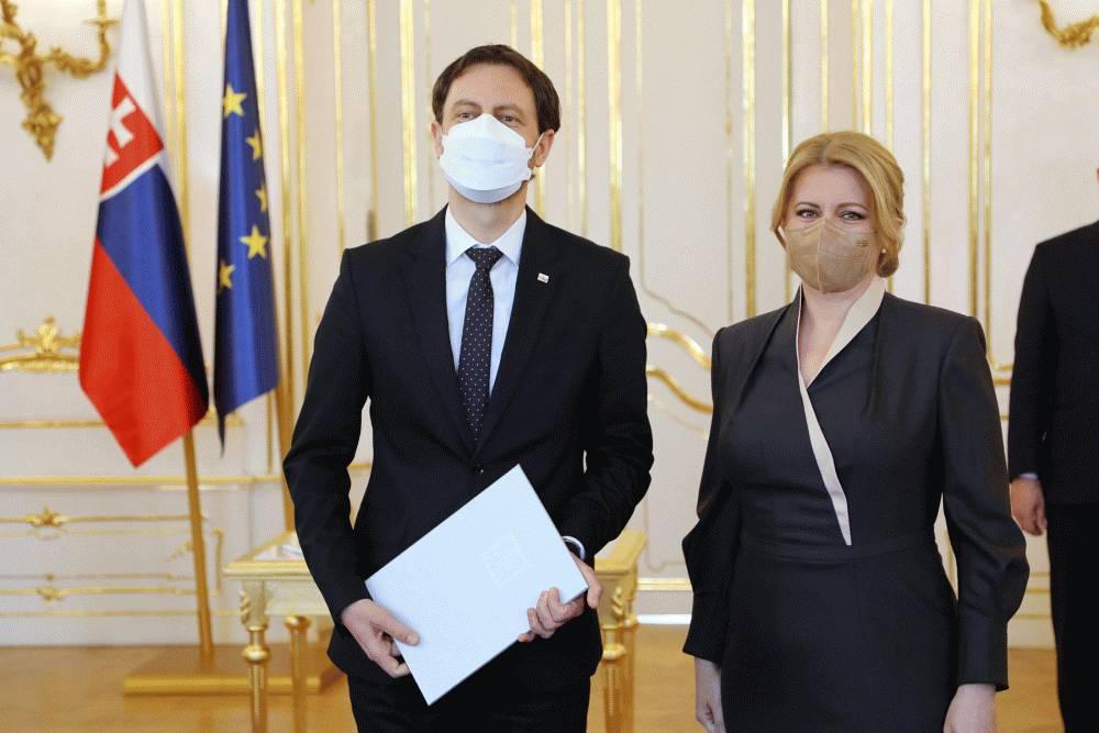 Prezidentka vymenovala vládu Eduarda Hegera