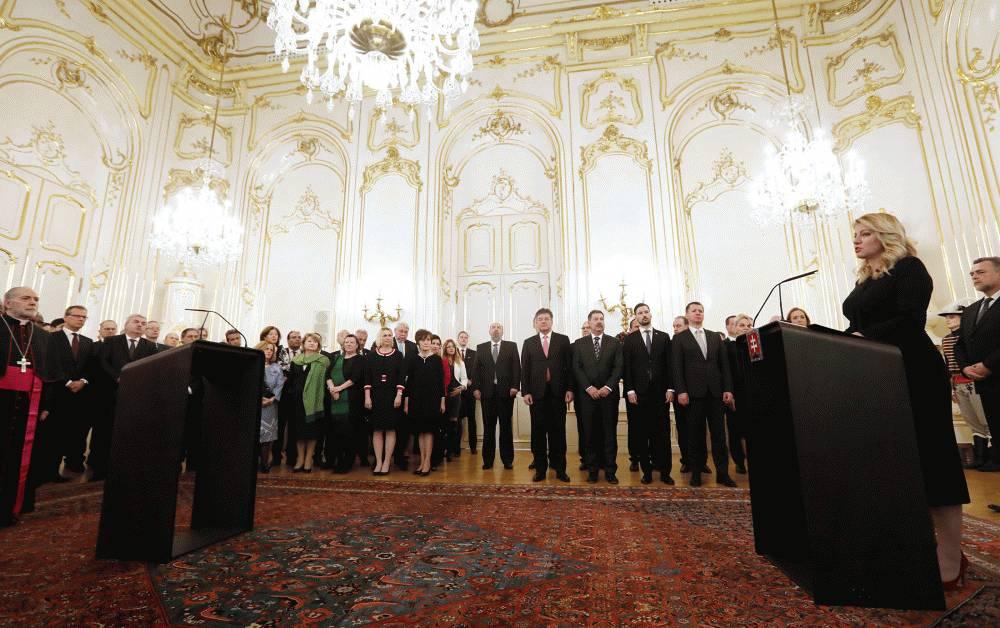 Prezidentka veľvyslancom: Tento rok by mal byť rokom dialógu a empatie