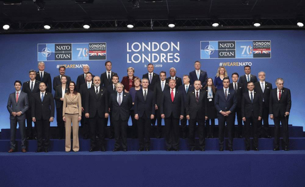 The President attended her first meeting of NATO leaders
