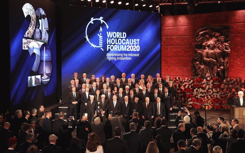 Prezidentka si v Izraeli uctila obete holokaustu