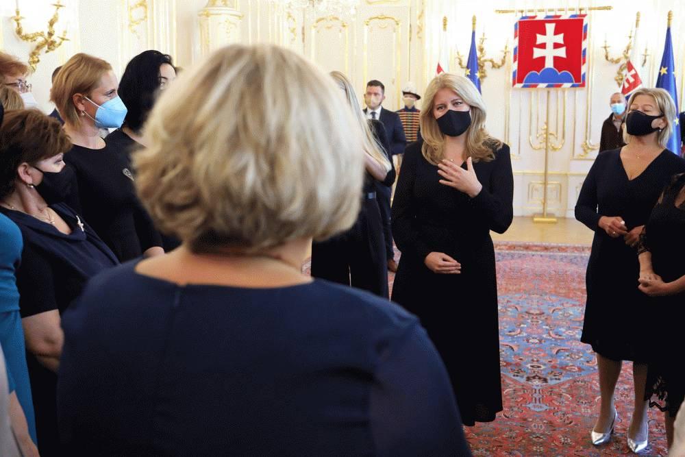 Prezidentka prijala držiteľky ocenenia Biele srdce