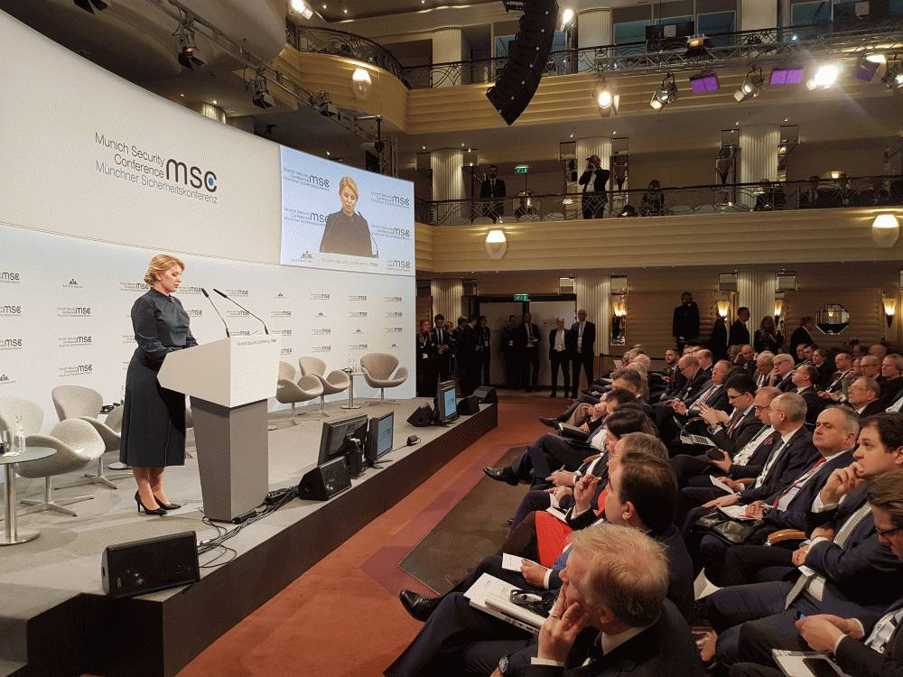 MSC: President talks about Leaders' Responsibility in Protecting Rule of Law