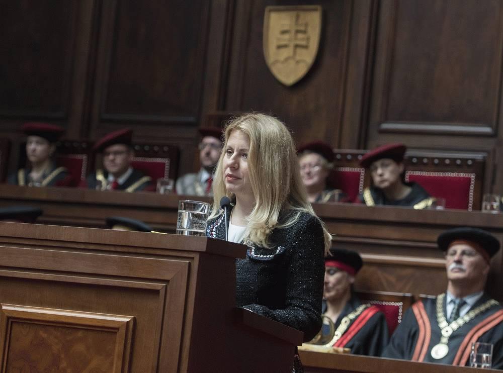 Prezidentka vystúpila s príhovorom pri príležitosti stého výročia Univerzity Komenského