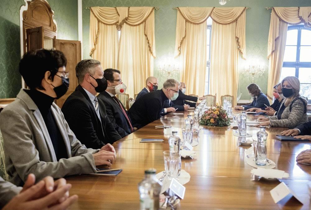 Prezidentka sa stretla s predstaviteľmi kultúry a kreatívneho priemyslu
