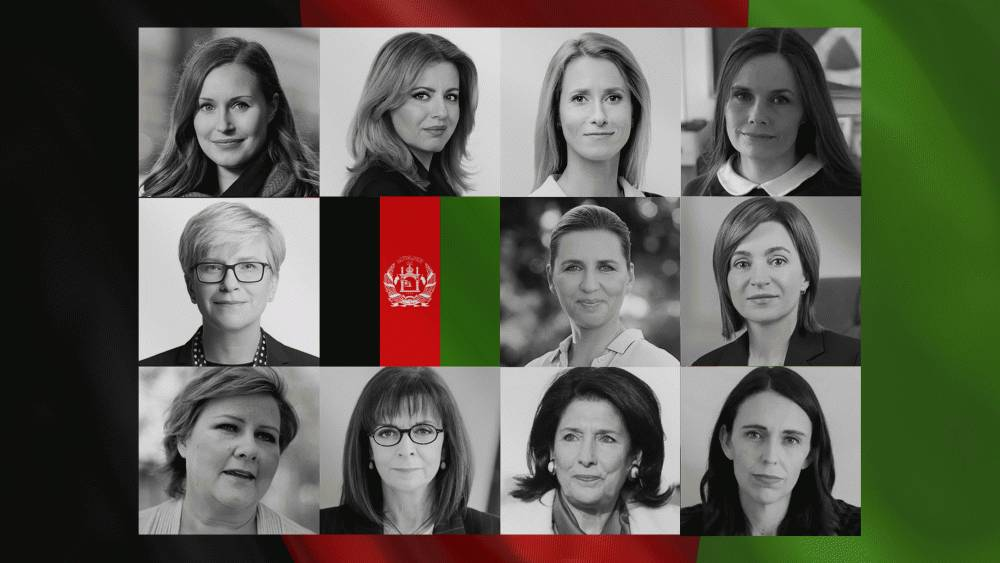 President co-initiated joint call to support Afghanistan's women