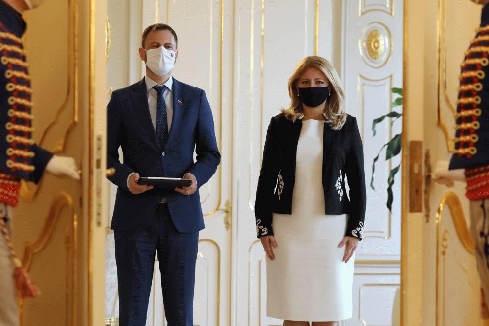 Prezidentka hovorila s ministrom financií o Fonde obnovy EÚ