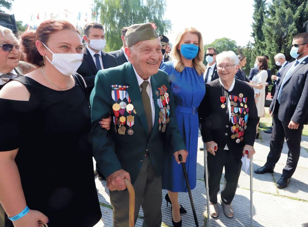 Prezidentka sa zúčastnila na oslavách 76. výročia SNP