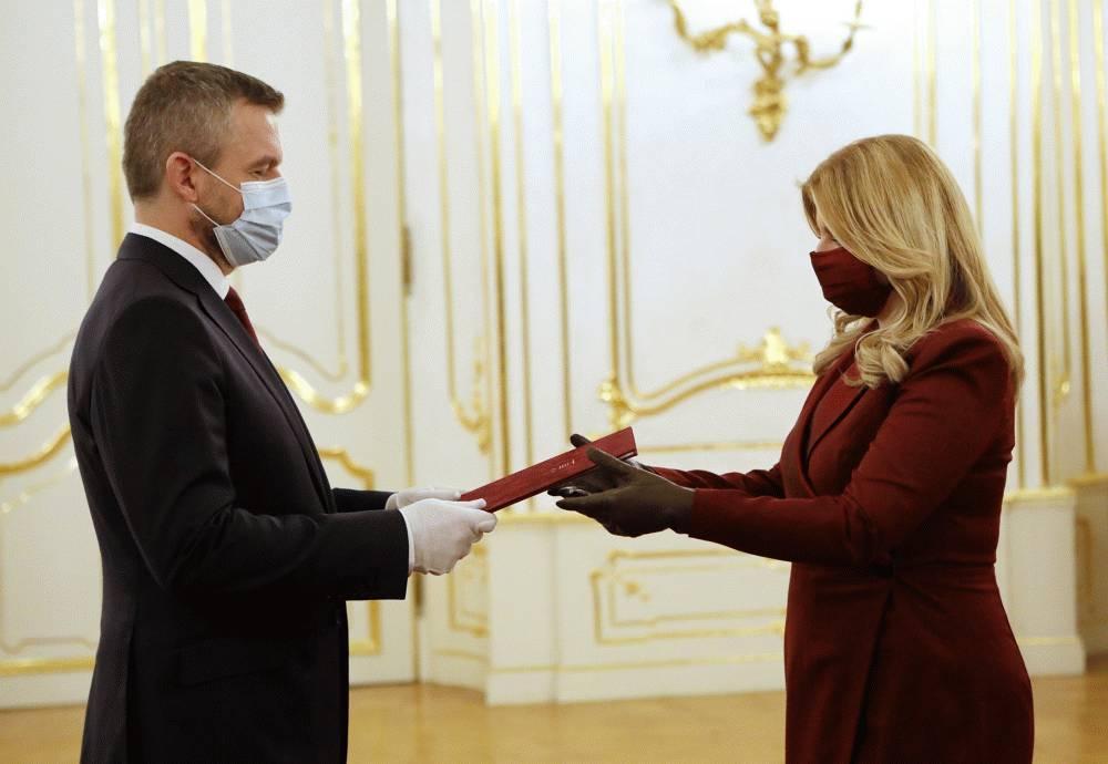 Prezidentka prijala demisiu vlády Petra Pellegriniho