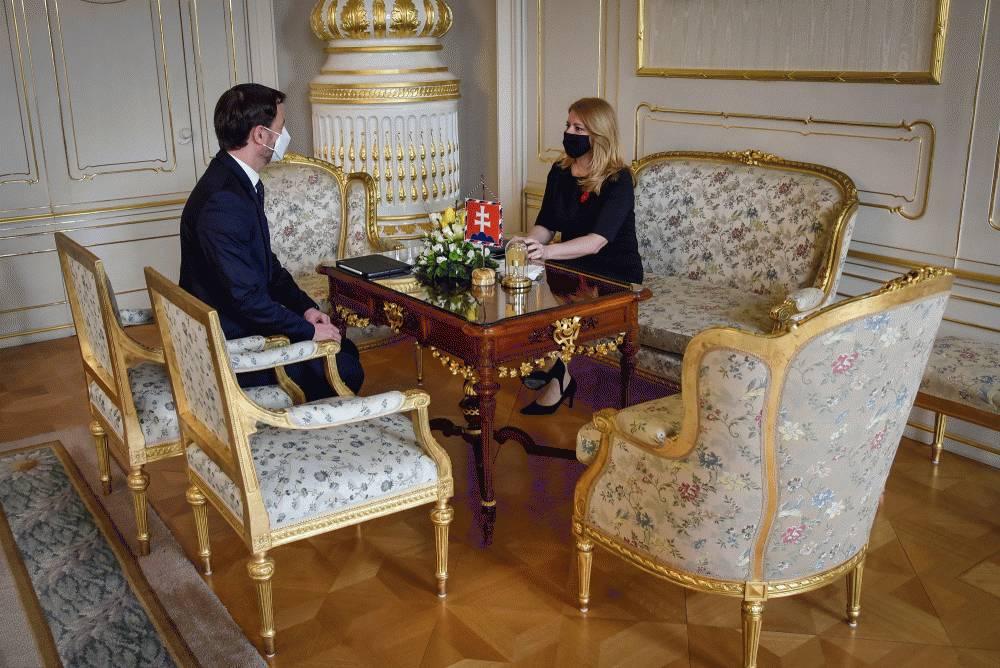 S ministrom financií prezidentka rokovala o Pláne obnovy