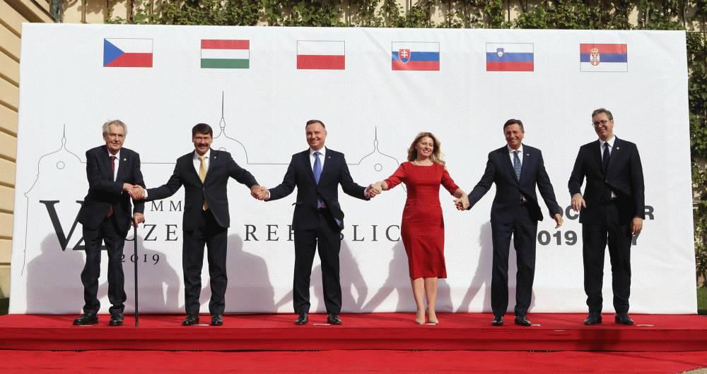 Prezidentka v Lánoch: Silná a jednotná EÚ je v záujme V4