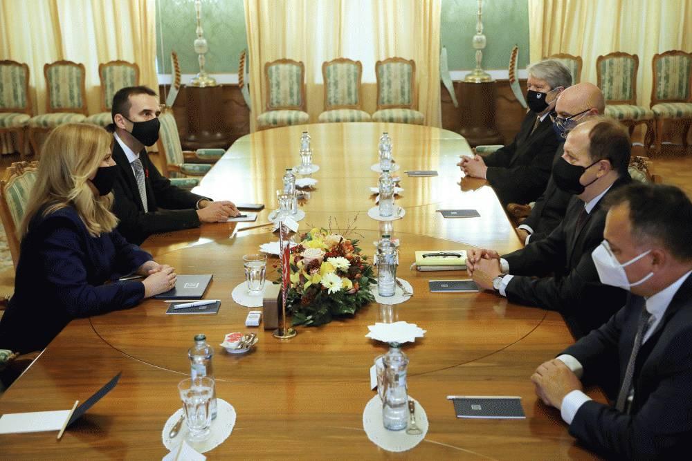 Prezidentka prijala zástupcov ÚMS a ZMO, ocenila samosprávy