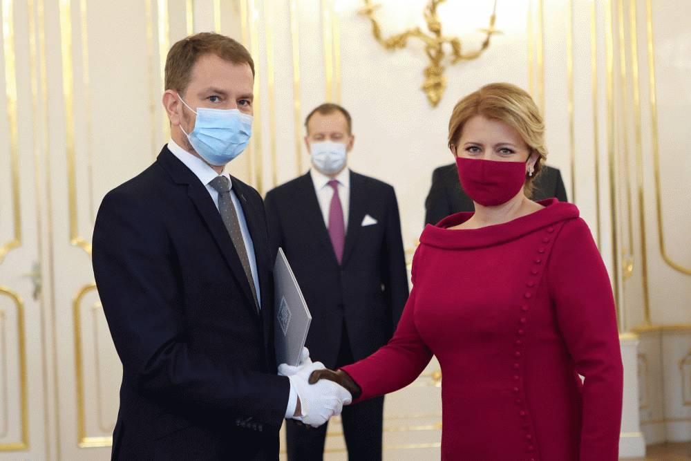 Prezidentka vymenovala vládu Igora Matoviča